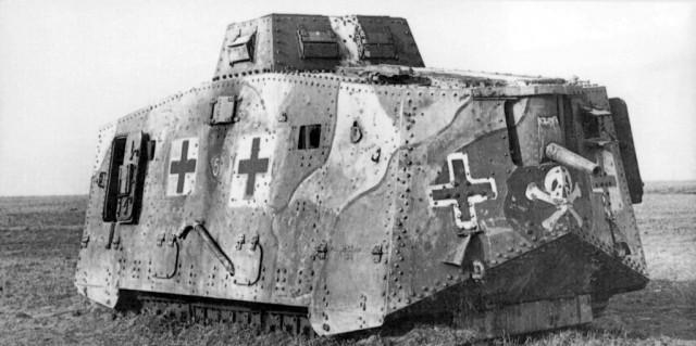 Тяжелый танк A7V (Sturmpanzerwagen A7V)